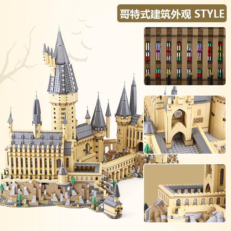 Harry 16060 Potter The Hogwarts Castle Set Legoinglys 71043 Building Blocks Bricks House Model Christmas Toys