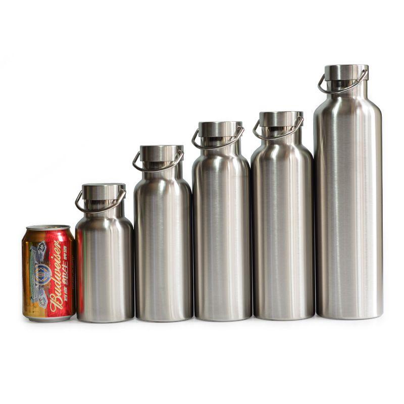 Thermos en acier inoxydable Double paroi isolé sous vide bouteille d'eau flacon tasse gobelet sans BPA