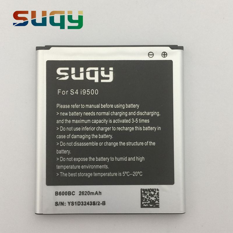 Suqy B600BC Batterie für samsung galaxy s4 i9500 i9502 i9508 i959 i959 R970 g7106 i9158 i9506 Aktive I9295 i9505 Telefon batterie
