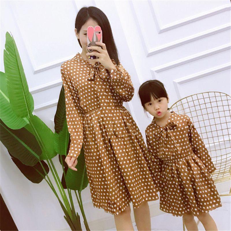 Платье для мамы и дочки «Мама и я» Семейный комплект платьев для матери и дочери Одежда для всей семьи Family look 20 #