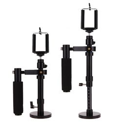 Adjustable Handheld Phone Stabilizer Steadycam Camera Video Shooting Stabilizer Phone Clip Rotated Connector for SJCAM Gopro 5 4