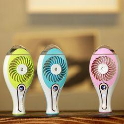 Les deux génération de haute qualité beauté de poche portable rechargeable mini mini pulvérisation humidificateur air conditionné ventilateur