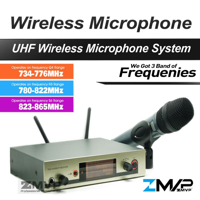 Free Shipping!! 335 G3 Professional UHF Wireless Microphone Cordless Karaoke System With Handheld Transmitter Got 3 Band