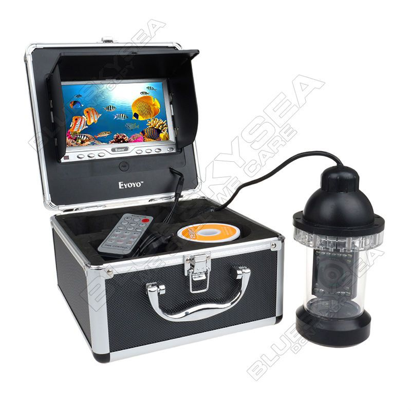 EYOYO Original 50M Underwater Fishing Camera Fish Finder Waterproof 360 Degree Rotating Video Camera 7