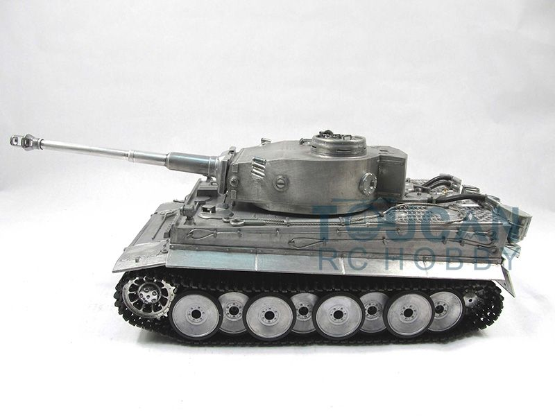 100% Metal Mato 1/16 Tiger I RC RTR Tank Model Infrared Barrel Recoil Metal Color 1220