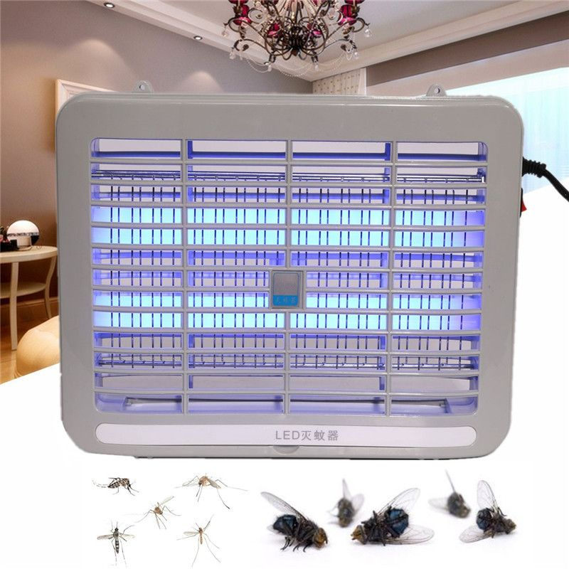 220 V 1 W Accueil Électrique Tueur de Moustique Lampe Moth Fly Bug Insectes Zapper Tueur Lampe Ravageur Rejeter Les Moustiques Piège lampe Répulsif