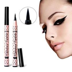 1 x Femmes Lady Beauté Noir Eyeliner Waterproof Liquid Eye Liner Pencil Make Up Cosmétique Mignon Outil