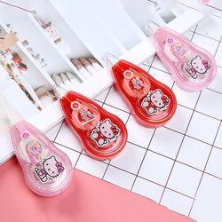 P19 kawaii adorable Hello Kitty Cinta correctora escuela fuente de oficina estudiante papelería correctiva Gomas de borrar papeleria niños regalo