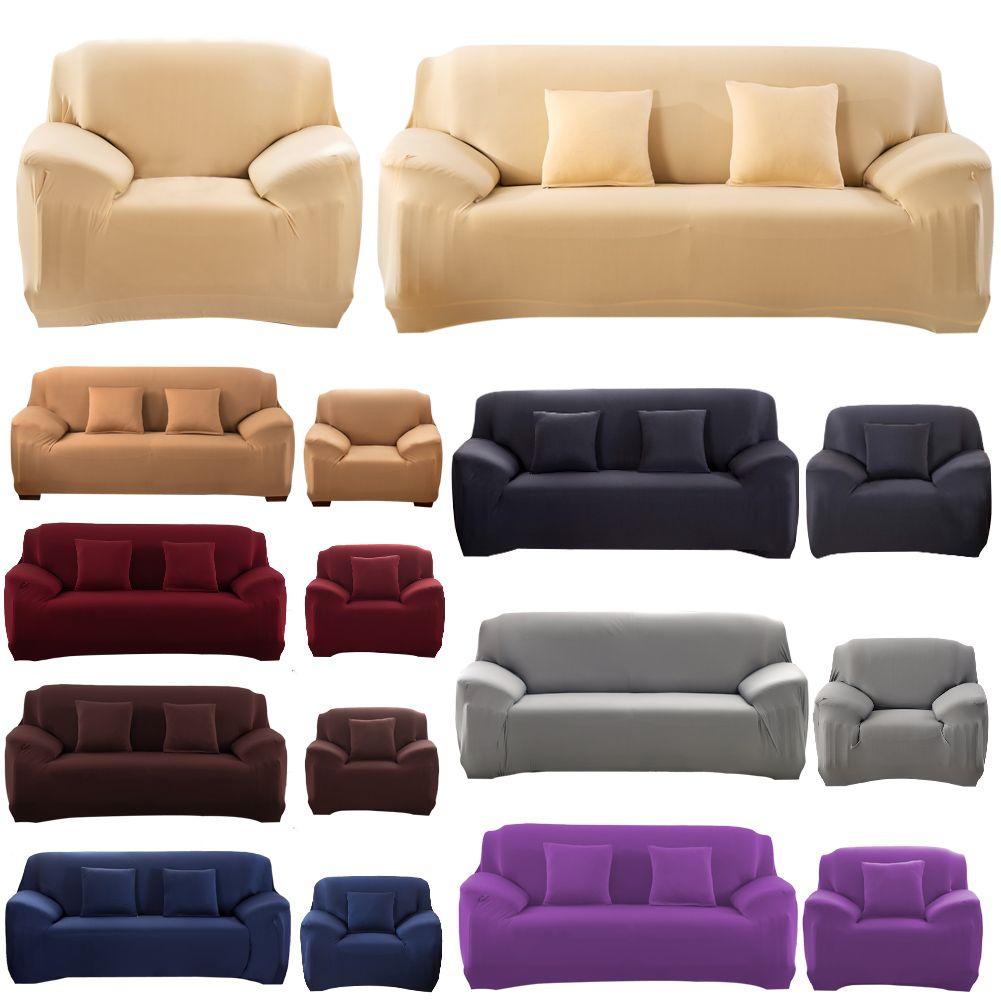 Housse de canapé extensible grande élasticité canapé canapé housse causeuse canapé meubles couverture brève Machine lavable canapé housse