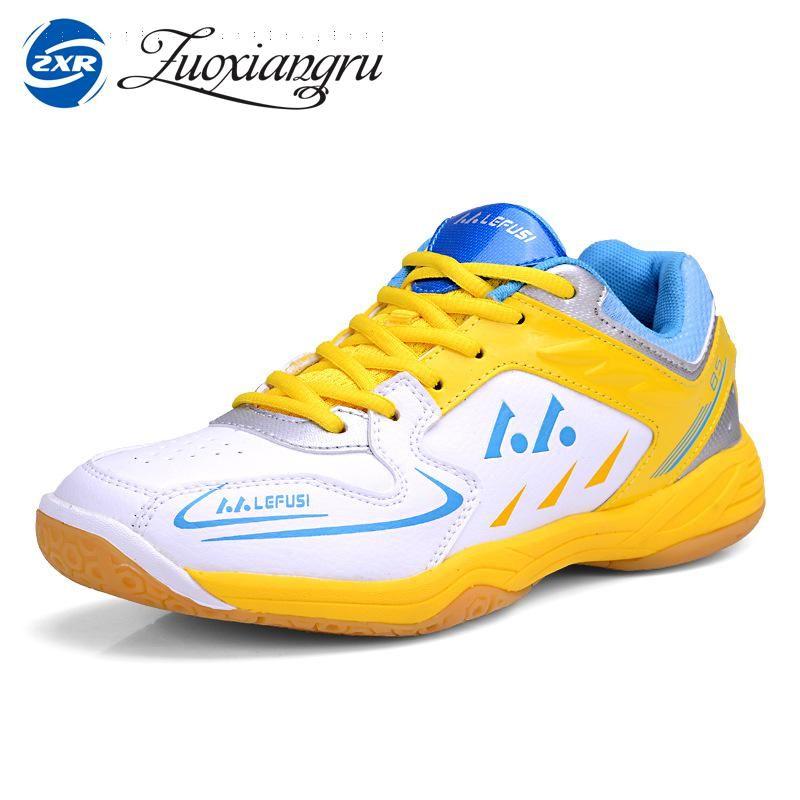 Zuoxiangru Neue Plus Marke Badminton Schuhe Hohe Qualität Tischtennis Schuhe Männer Frauen Leichte Innen Turnschuhe Sportschuhe