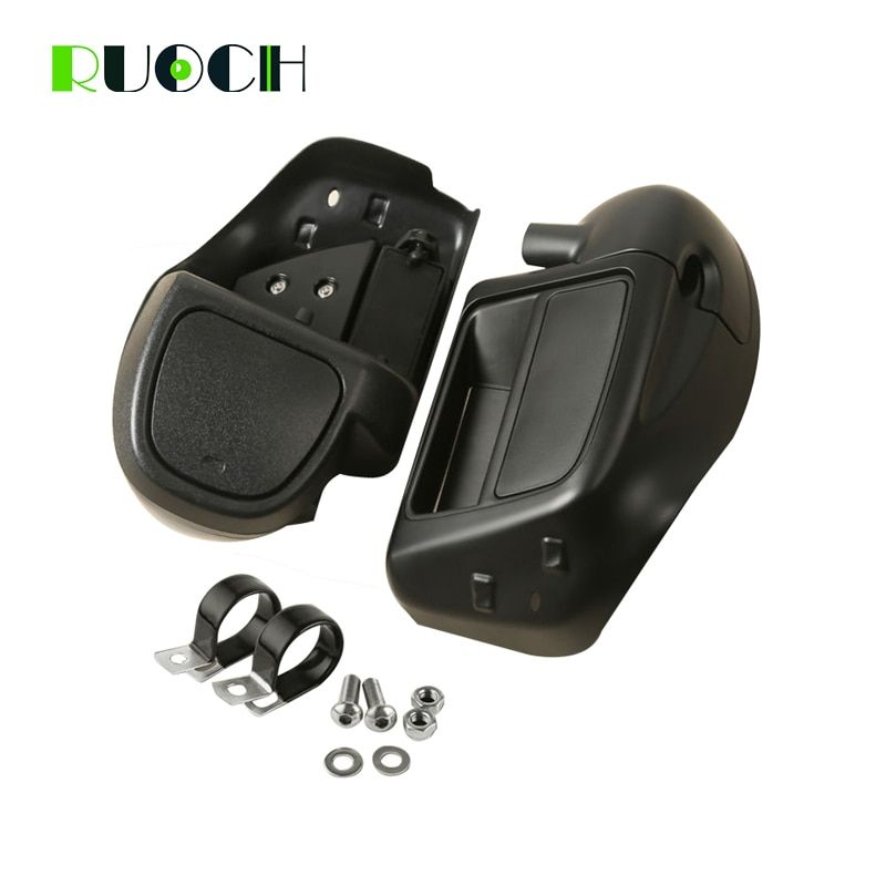 Motorcycle Accessories Lower Vented Leg Fairing Glove Box Hardware Warmer for Harley Davidson Touring Electra Street Glide 14-18