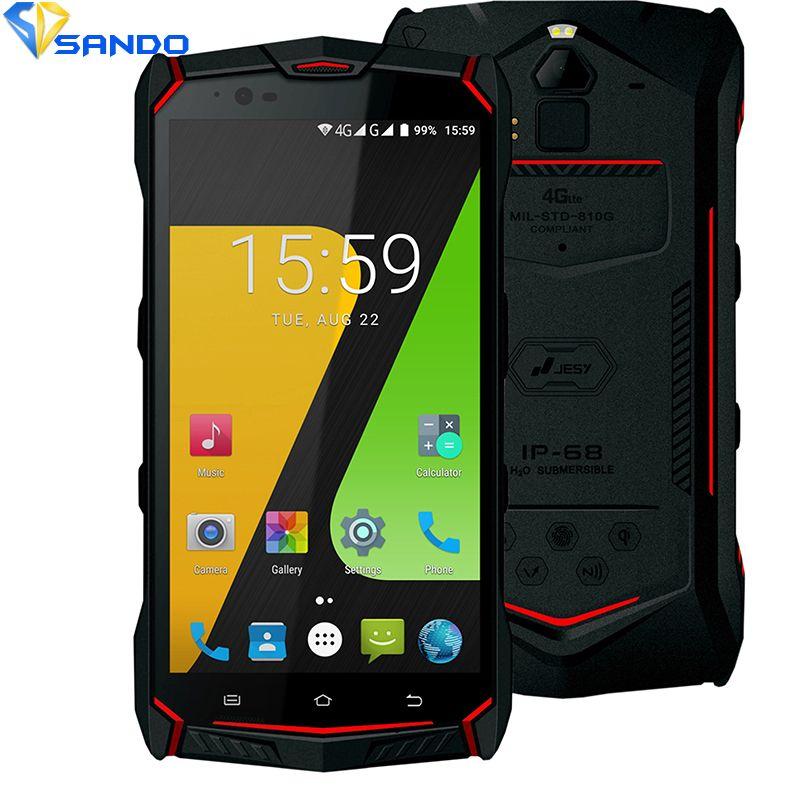 JESY J9s IP68 Impermeable nuevo teléfono móvil 4G A Prueba de Golpes Teléfono 4G RAM 64 GB ROM Smartphone 5.5