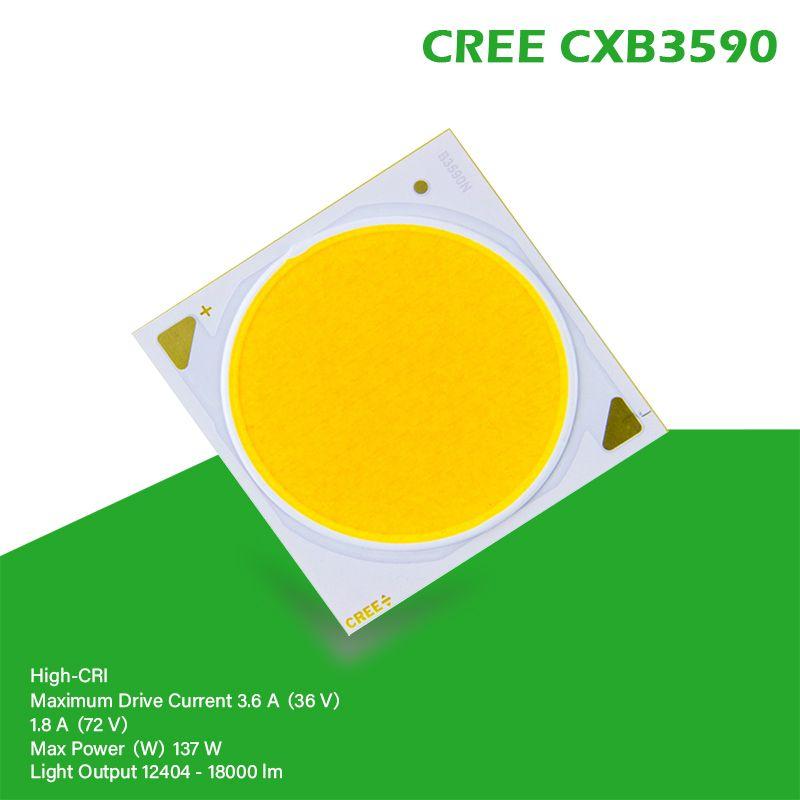 COB LED Wachsen Licht CREE CXB3590 CXB 3590 3000K 3500K 5000K 12000LM Original Chip High Power Lumen für DIY Pflanze Wachsen Lampe