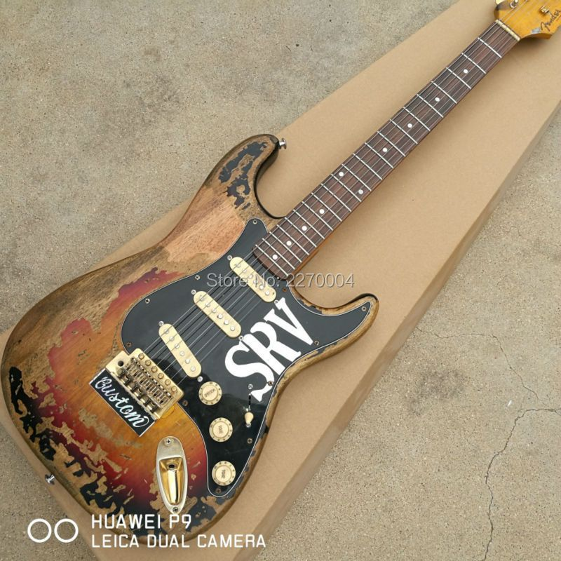 2016 manual high-quality retro ST electric guitar, free shipping