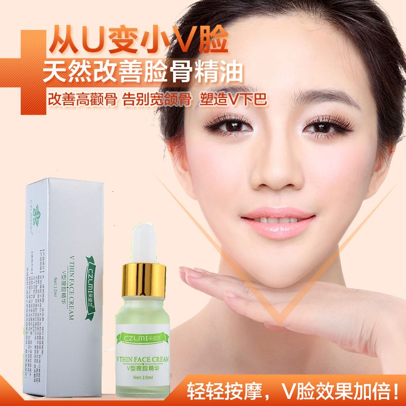Thin V Face Essential Oils Slimming Losing Weight Essential Oil Whitening Moisturizing Shrink Pores Anti Wrinkle Aging Serum