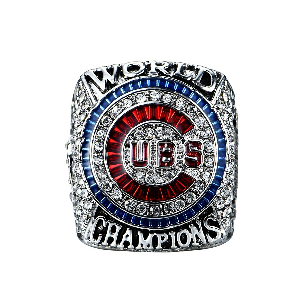 Drop Shipping 2016  Chicago Cubs Player Bryant/Rizzo/Zonbrist World Series Solid Championship Ring Size 8 9 10 11 12 13 14