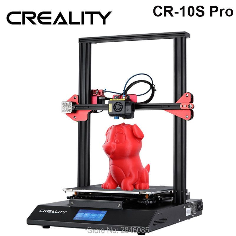 CREALITY 3D CR-10S Pro Auto Nivellierung Sensor Drucker 4,3 zoll Touch LCD Lebenslauf Druck Filament Erkennung Funtion MeanWell Power