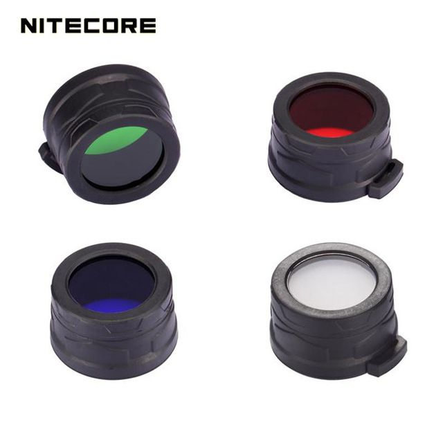 High Grade Nitecore RGB Lanterna Filter Diffused Mineral Coated Glass Lens For The Flashlight With Head Of 40mm EA41 P25 SRT7