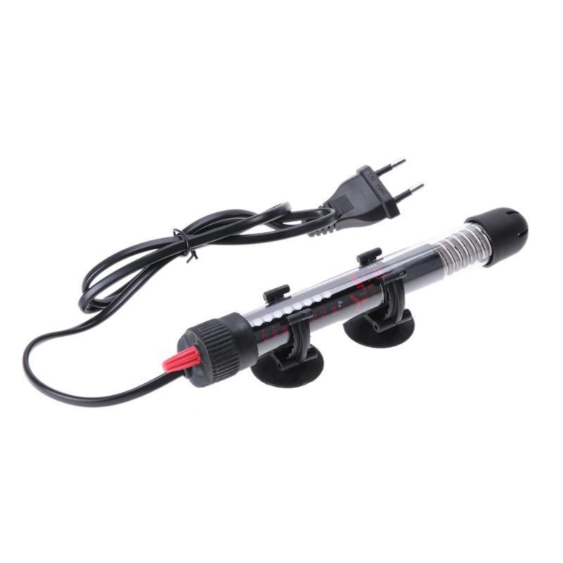 Aquarium Heater Rod 25/50/100/200/300W Aquarium Thermometer Sticker Temperature Controller for Aquarium Fish Tank