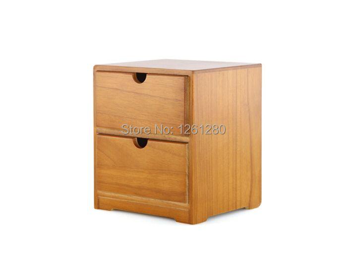 free shipping Wooden tool box desk storage drawer debris cosmetic storage box bin jewelry case office Creative gift Home