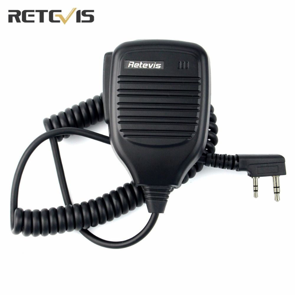 Retevis PTT Speaker Mic For Kenwood For Baofeng UV-5R BF-888S Retevis H777 RT3 For TYT Radio Walkie Talkie C9001A