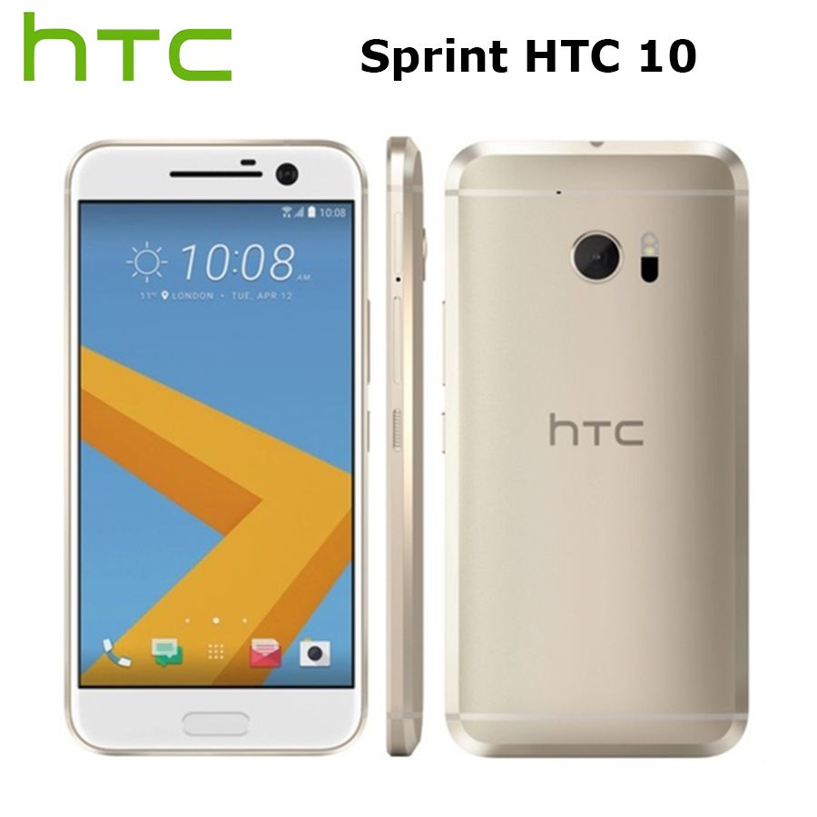 Sprint Version HTC 10 M10 LTE Handy 5,2 zoll 4 GB RAM 32 GB ROM Snapdragon820 QuadCore 12MP Kamera NFC Fingerprint Rindcallphone
