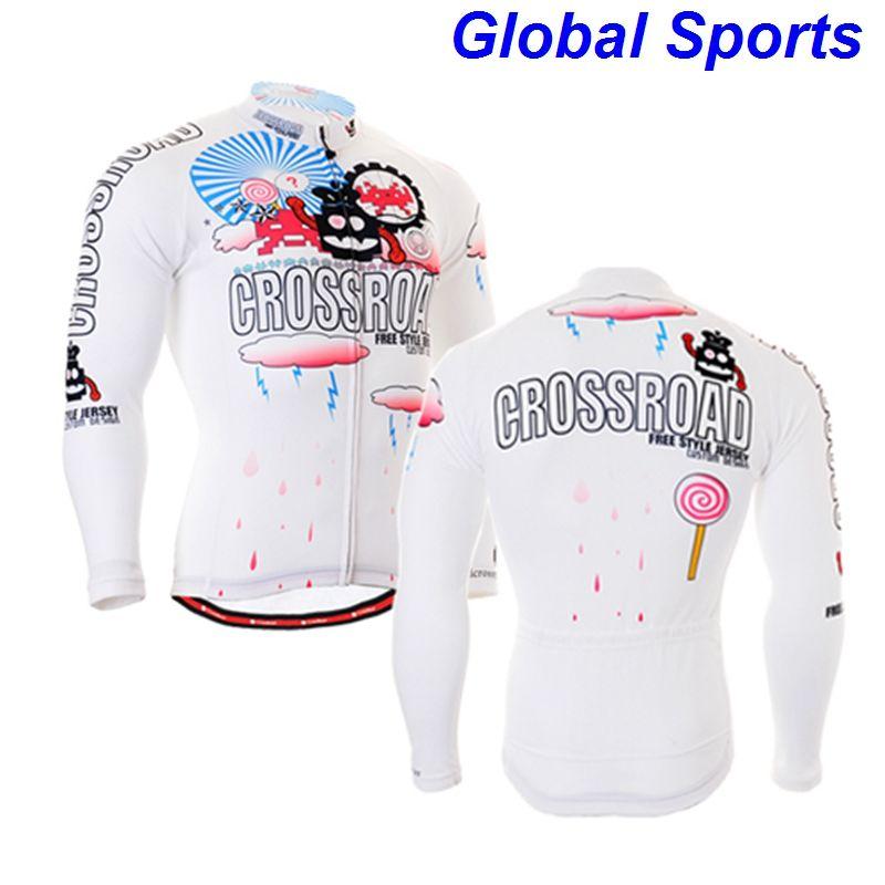 2017 Brand zipper Up Cycling Jacket Bike Riding Top Clothing Windproof Waterproof Coat Mens Long Sleeve Jersey