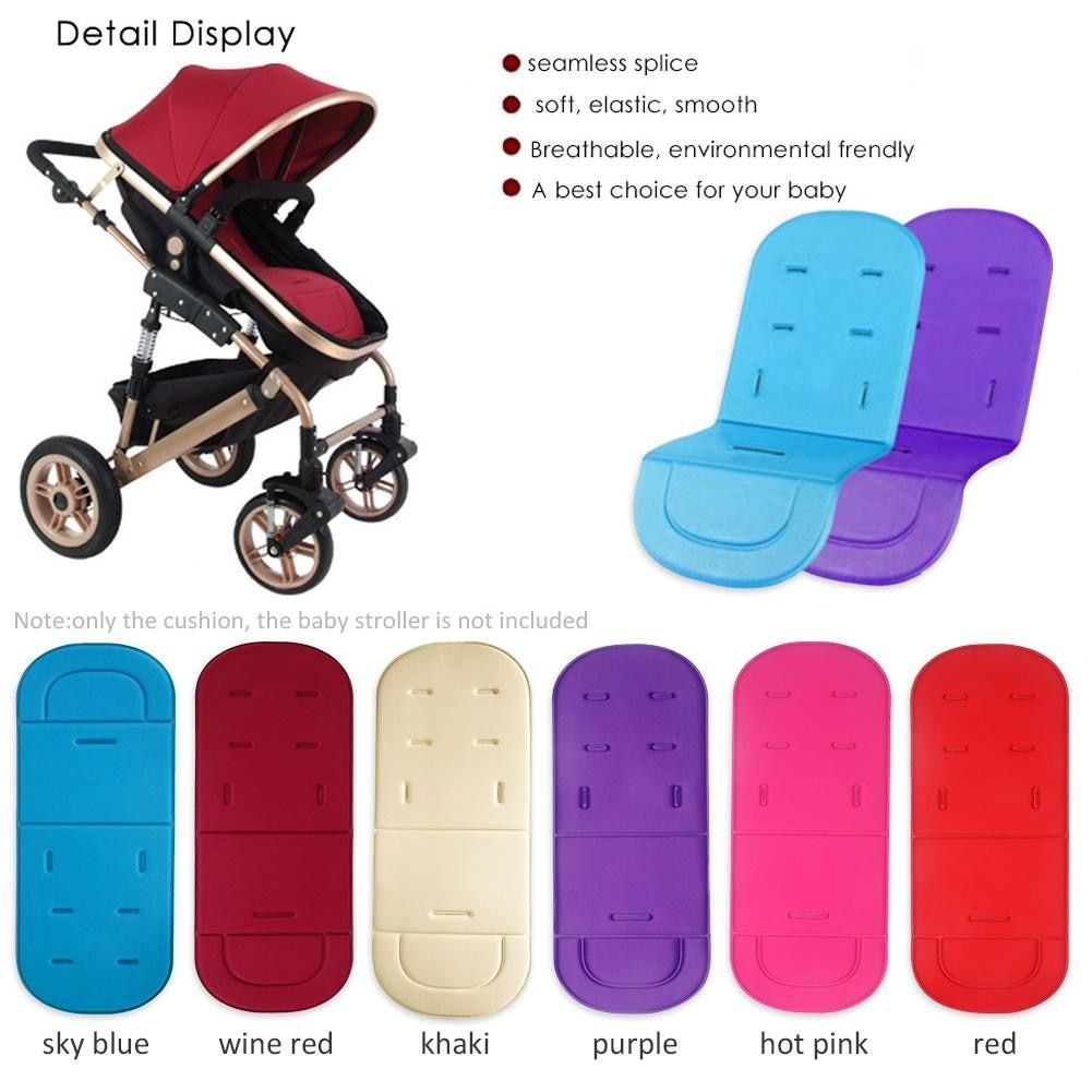Comfortable Baby Stroller Seat Cushion Child Cart Seat Cushion Pushchair Thick Mat for Baby Car Pad