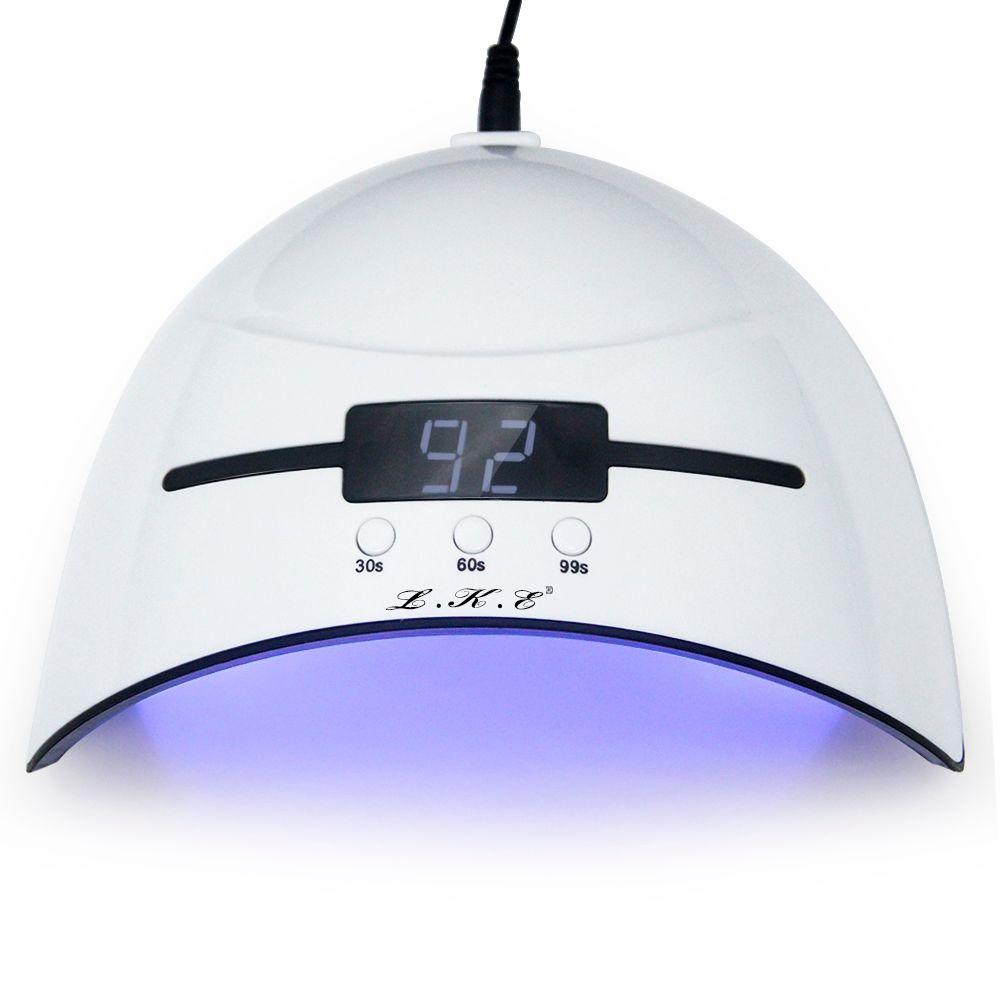 LKE 36 w Nail Sèche-LED UV Lampe Micro USB Nail pour Lampes Durcissement LED Gel Constructeur 3 Mode Chronométré avec Automatique Capteur Séchoirs À Ongles