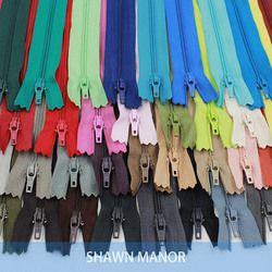 50 PCS 3 #20 CM Fermetures À Glissière En Nylon Pour Le BRICOLAGE Couture Pantalon À La Main Portefeuille 30 Couleurs Disponibles
