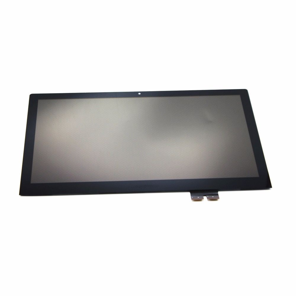15.6'' Touch Glass Digitizer + LCD Display Screen Assembly FHD IPS Panel LP156WF4 SPL1 For Lenovo Flex 2 Pro 15 with Frame/Bezel