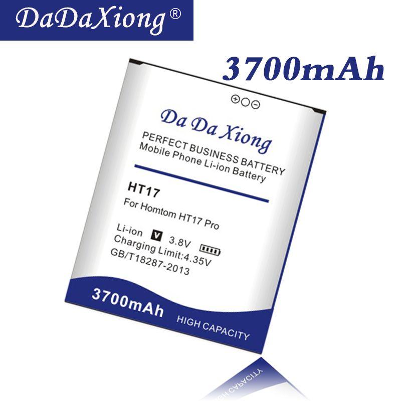 Da Da Xiong Original 3700 mah HT17 Batterie für Homtom HT17/HT17 PRO Telefon Batterie