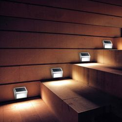 LMID Solar Rechargeable Night solar lamp light Wall PIR Motion Sensor Decoration garden led solar light outdoor waterproof