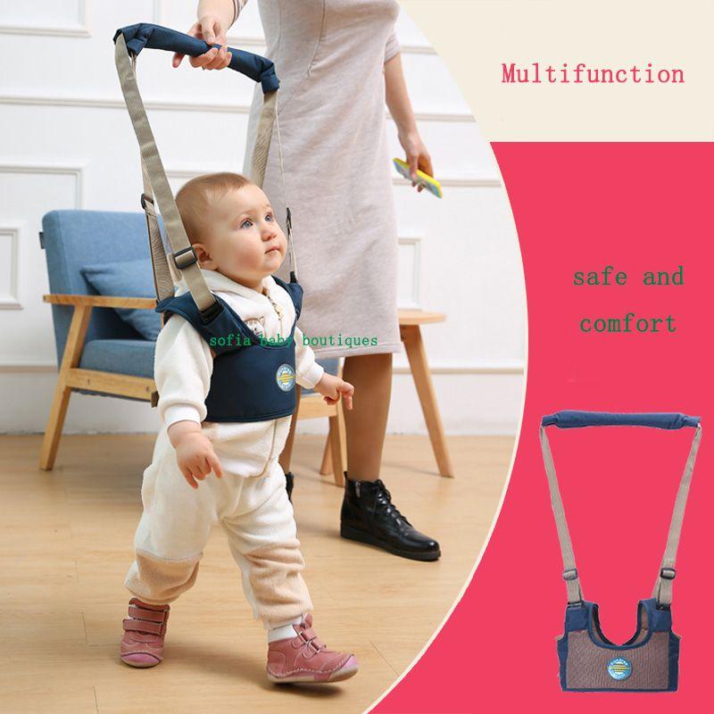 Бесплатная доставка Младенческая Прогулки ремень Регулируемый ремень для обучения ходьбе помощник безопасности поводок для ребенка