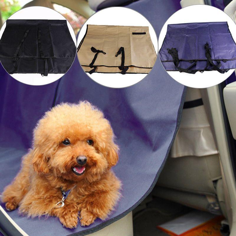 Einfach Zu Packen Haustier Hund Katze Auto Hinten Sitz wasserdicht Halterungsabdeckung Haustier Mat Blanket Hammock und sauber für auto
