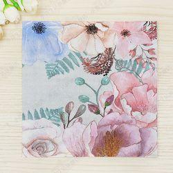 Vintage Flores grandes diseño papel servilletas café & party tissue servilletas decoupage decoración papel 33 cm * 33 cm 20 unids/pack/lot