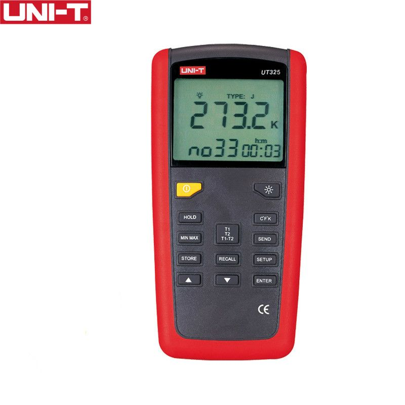 UNI-T UT325 Contact Type Termometers Range -200~1375 USB Interface Industrial Temperature Test Selection Type K.J.T.E.R.S.N