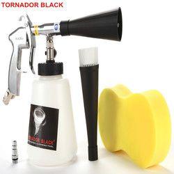 TORNADOR черный Z-020 Воздушный Автомобильный пневмоочиститель пневматический автомобильный инструмент сухой очиститель Торнадо аппарат с мета...
