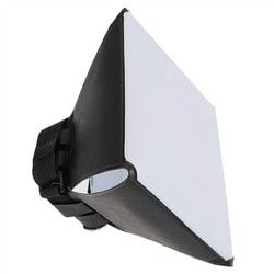 Camera Photo Universal Foldable Soft Box Flash Diffuser Softbox for Canon 580EX 550Ex  540EZ 430EZ 420EZ  430EX 420EX