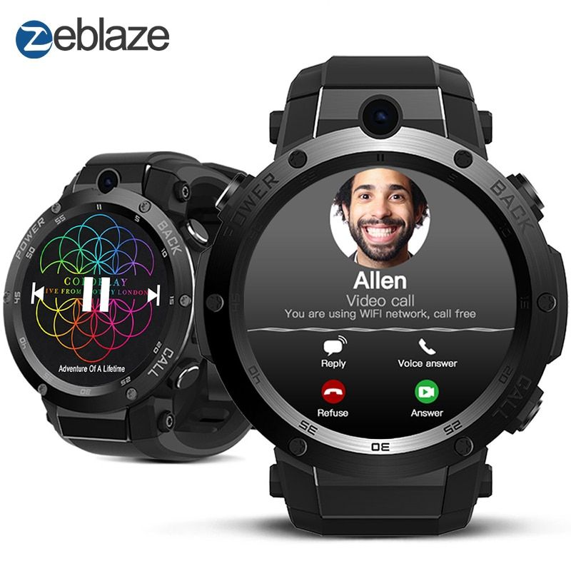 New Zeblaze Thor S 3G GPS Smartwatch 1.39inch Android 5.1 MTK6580 1.0GHz 1GB+16GB Smart Watch BT 4.0 Wearable Devices