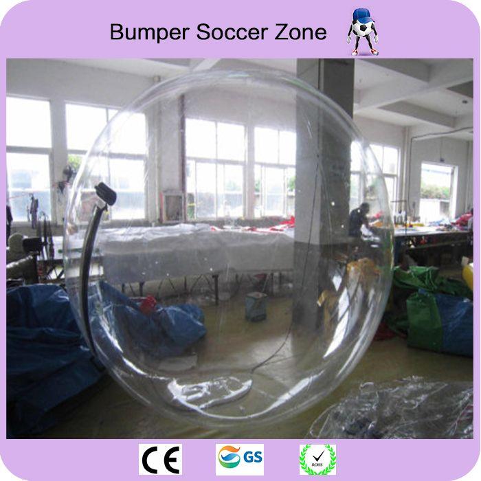 TPU 2 mt Top Qualität Wasser Gehende Kugel Zorbing Wasser Ball Riesigen Ball Zorb Ballon Aufblasbare Menschlichen Hamster Wasser Fußball