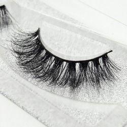Visofree eyelashes 3D mink eyelashes long lasting mink lashes natural dramatic volume eyelashes extension false eyelashes D08