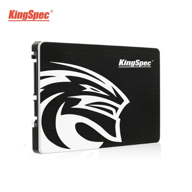 KingSpec SATA SSD 720GB 2.5 ''SATA III SSD 360GB 180GB noir à semi-conducteurs pour ordinateur portable ordinateur de bureau Macbook Pro 17