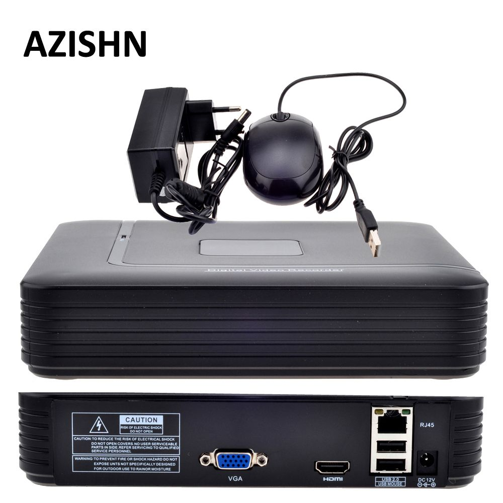 Mini NVR Full HD 4CH 8CH Security <font><b>CCTV</b></font> NVR 1080P ONVIF 2.0 For IP Camera System 1080P With Radiator Surveillance System