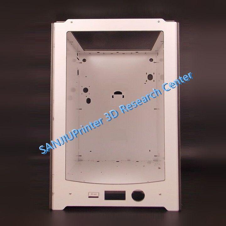 SANJIUPrinter Für UM2 Ultimaker 2 Erweiterte + Rahmen Shell Fall von Dicke 6mm Aluminiumplatte Freies Verschiffen.