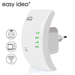 Easyidea Беспроводной усилитель wifi 300 Мбит/с сети Телевизионные антенны WiFi сигнала Extender Усилители домашние 802.11N/B/G усилитель сигнала repetidor WiFi