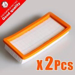 2 шт./лот Хорошее качество karcher фильтр для DS5500, DS6000, DS5600, DS5800 робот пылесос Части Karcher 6.414-631.0 hepa фильтры