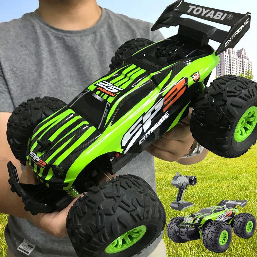 Voiture RC 2.4G 1/18 monstre camion voiture télécommande jouets contrôleur modèle véhicule tout-terrain camion 15 KM/H radiocommande voiture jouet voitures