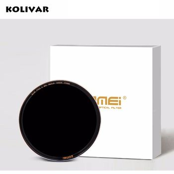 Zomei Slim MC ND1000 ND3.0 52/58/67/72/77/82 Pro Optical Glass Neutral Density ND Filter for Canon Nikon Sony Zeiss Sigma lens