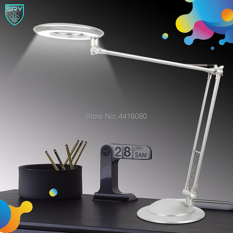 SQ-LD520office table lamp student reading lamps fashion lights Free rotation Angle different Color 10W 4000K Offer led desk lamp